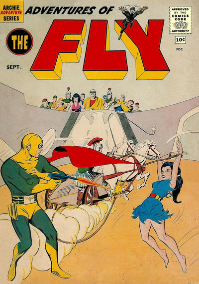 Cover for Adventures of The Fly (Archie, 1960 series) #8