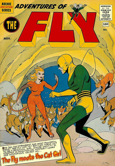 Cover for Adventures of The Fly (Archie, 1960 series) #9