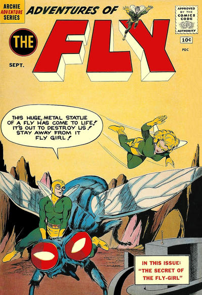 Cover for Adventures of The Fly (Archie, 1960 series) #14