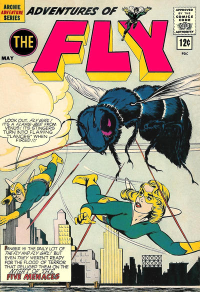Cover for Adventures of The Fly (Archie, 1960 series) #19