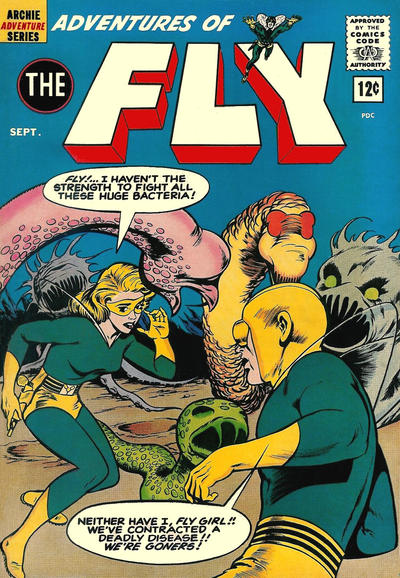Cover for Adventures of The Fly (Archie, 1960 series) #21