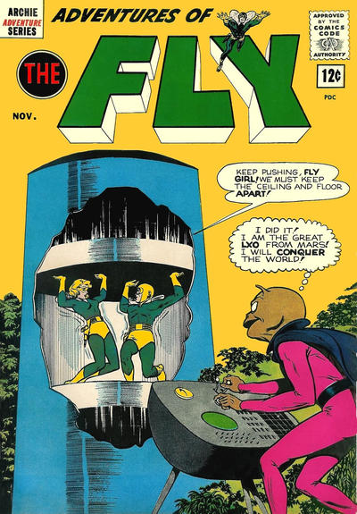 Cover for Adventures of The Fly (Archie, 1960 series) #23