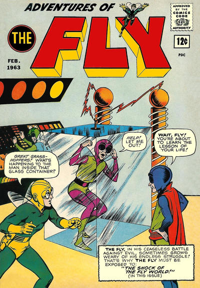 Cover for Adventures of The Fly (Archie, 1960 series) #24