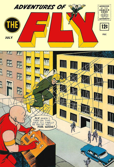 Cover for Adventures of The Fly (Archie, 1960 series) #26