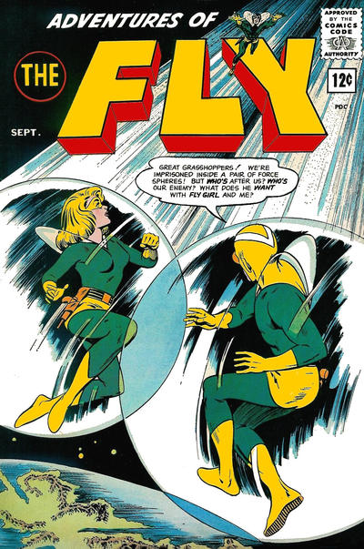 Cover for Adventures of The Fly (Archie, 1960 series) #27