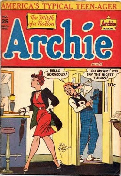 Cover for Archie Comics (Archie, 1942 series) #25