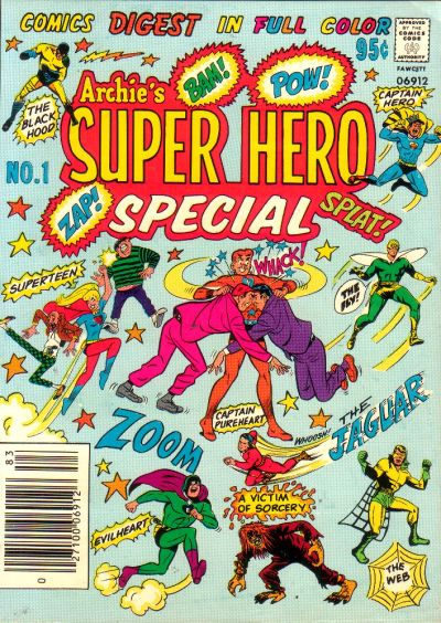 Cover for Archie's Super Hero Special (Archie, 1978 series) #1