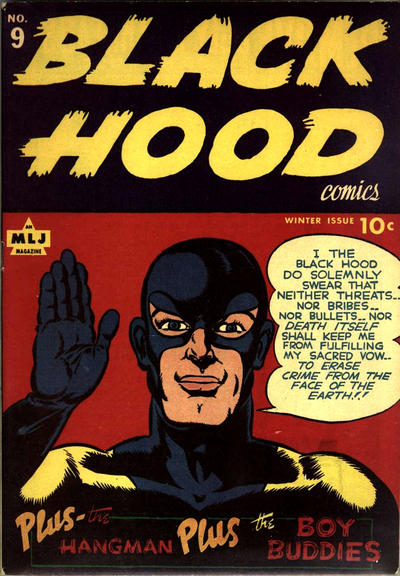 Cover for Black Hood Comics (Archie, 1943 series) #9