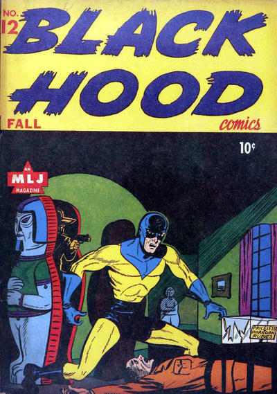 Cover for Black Hood Comics (Archie, 1943 series) #12