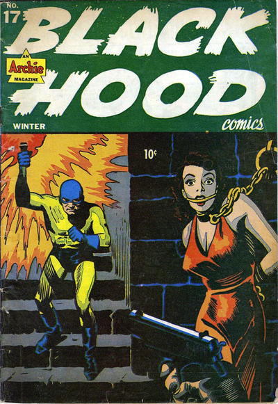 Cover for Black Hood Comics (Archie, 1943 series) #17
