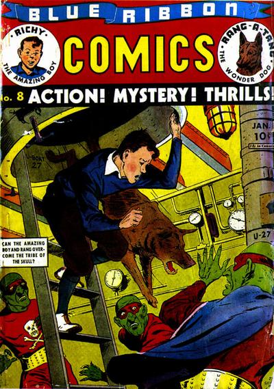 Cover for Blue Ribbon Comics (Archie, 1939 series) #8