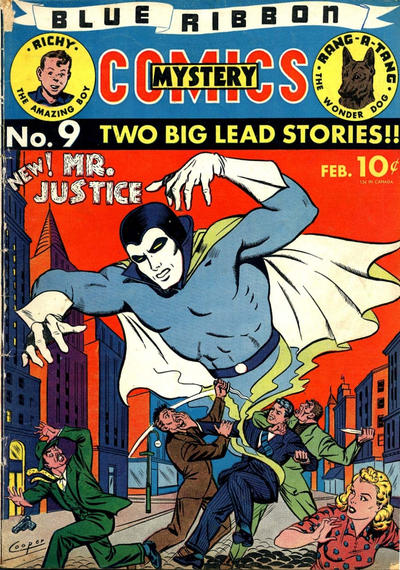 Cover for Blue Ribbon Comics (Archie, 1939 series) #9