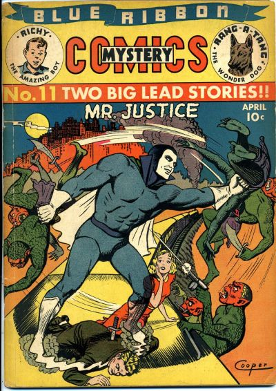 Cover for Blue Ribbon Comics (Archie, 1939 series) #11