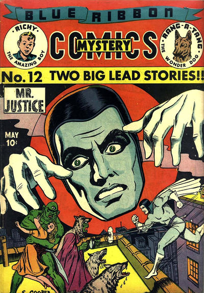 Cover for Blue Ribbon Comics (Archie, 1939 series) #12