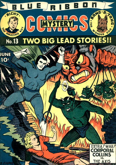 Cover for Blue Ribbon Comics (Archie, 1939 series) #13