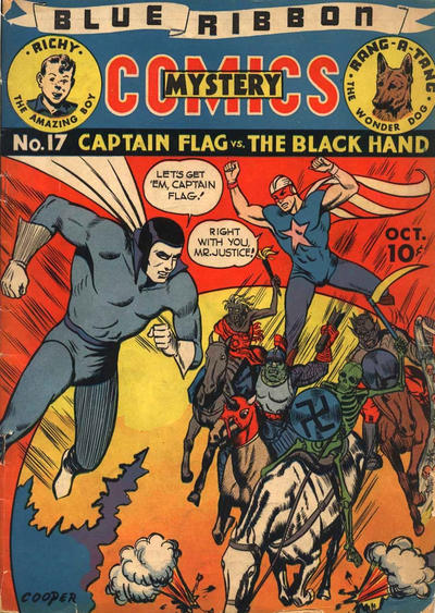 Cover for Blue Ribbon Comics (Archie, 1939 series) #17