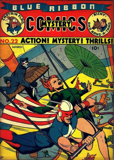 Cover for Blue Ribbon Comics (Archie, 1939 series) #22