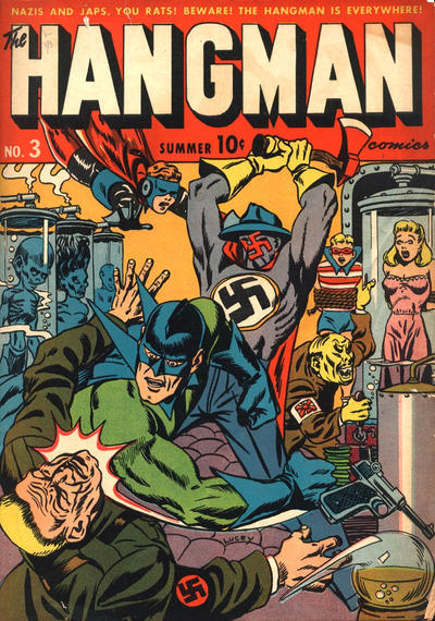 Cover for Hangman Comics (Archie, 1942 series) #3