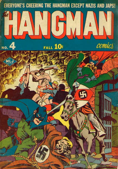 Cover for Hangman Comics (Archie, 1942 series) #4