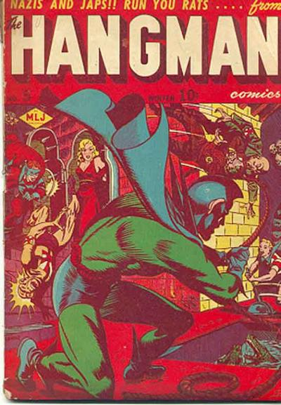 Cover for Hangman Comics (Archie, 1942 series) #5