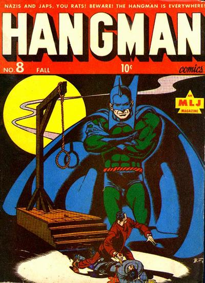 Cover for Hangman Comics (Archie, 1942 series) #8