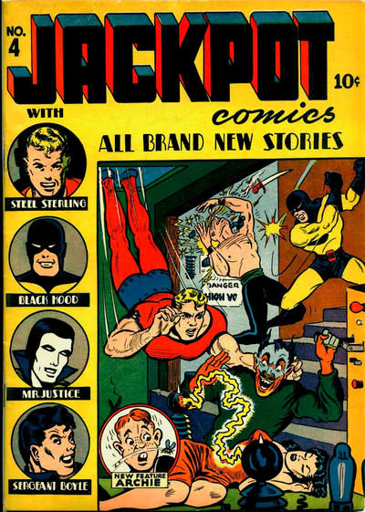 Cover for Jackpot Comics (Archie, 1941 series) #4
