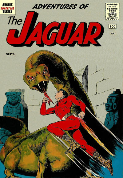 Cover for Adventures of the Jaguar (Archie, 1961 series) #1