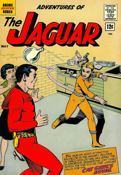 Cover for Adventures of the Jaguar (Archie, 1961 series) #6 [15 cent]