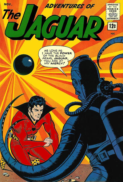 Cover for Adventures of the Jaguar (Archie, 1961 series) #15