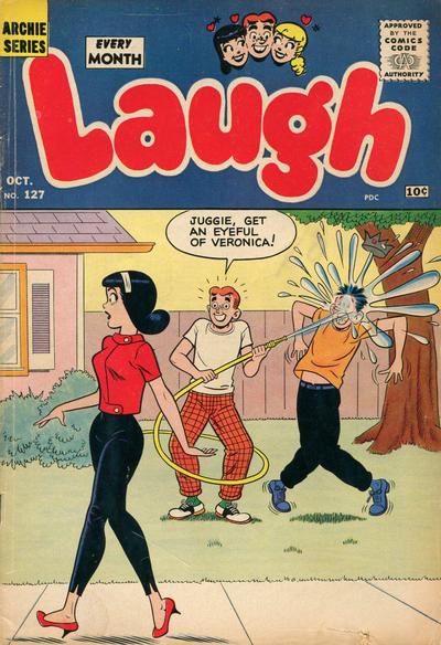 Cover for Laugh Comics (Archie, 1946 series) #127