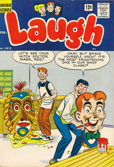 Cover for Laugh Comics (Archie, 1946 series) #143