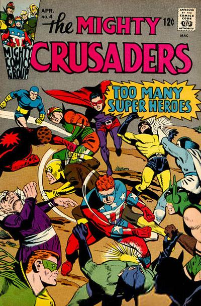 Cover for The Mighty Crusaders (Archie, 1965 series) #4