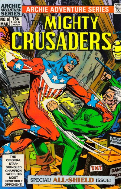 Cover for The Mighty Crusaders (Archie, 1983 series) #6