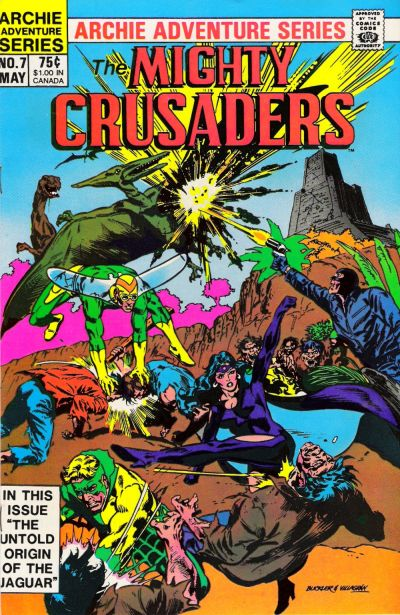 Cover for The Mighty Crusaders (Archie, 1983 series) #7 [Direct]
