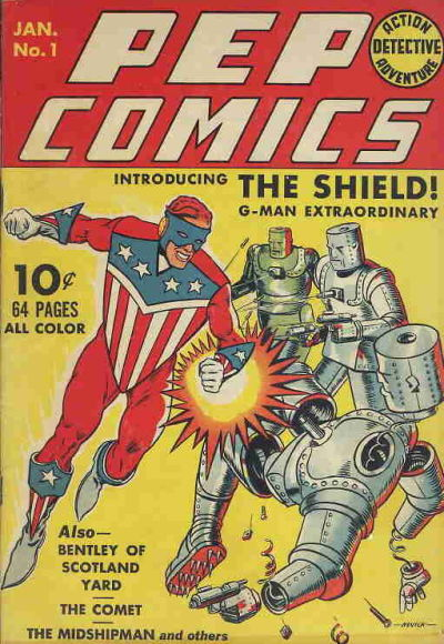 Cover for Pep Comics (Archie, 1940 series) #1