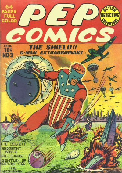 Cover for Pep Comics (Archie, 1940 series) #3