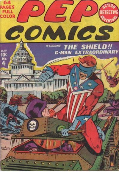 Cover for Pep Comics (Archie, 1940 series) #4