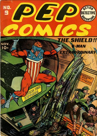Cover for Pep Comics (Archie, 1940 series) #9