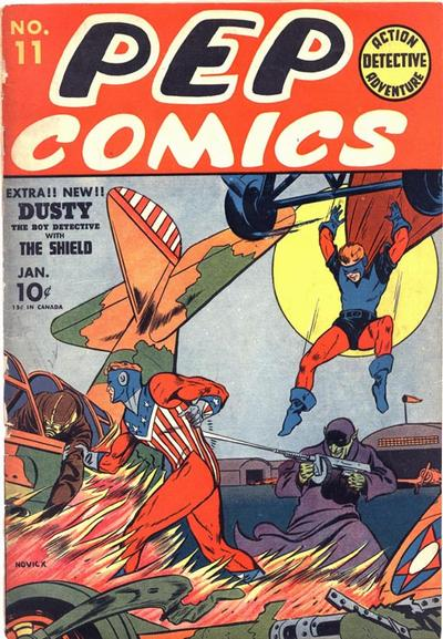 Cover for Pep Comics (Archie, 1940 series) #11