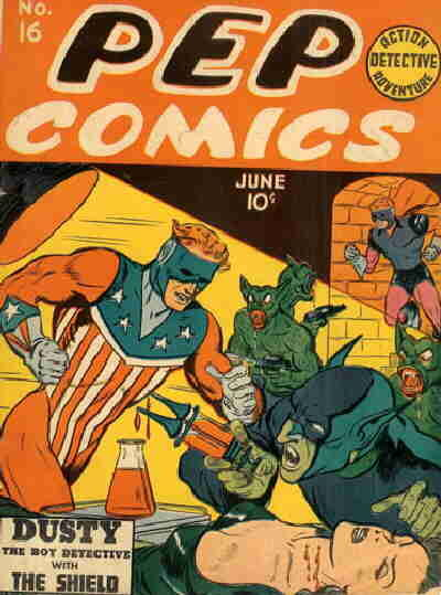 Cover for Pep Comics (Archie, 1940 series) #16