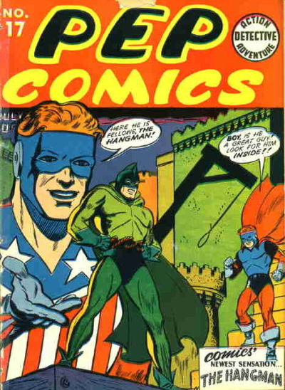 Cover for Pep Comics (Archie, 1940 series) #17