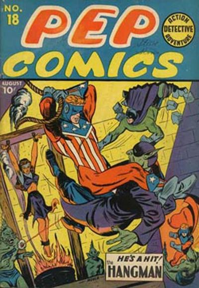 Cover for Pep Comics (Archie, 1940 series) #18