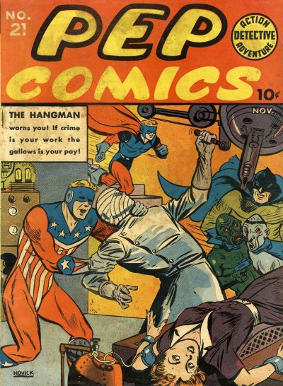 Cover for Pep Comics (Archie, 1940 series) #21