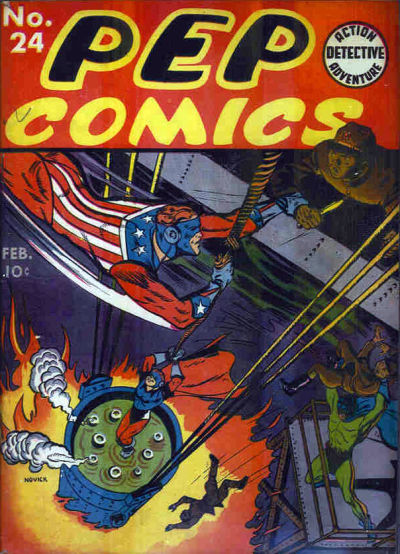 Cover for Pep Comics (Archie, 1940 series) #24