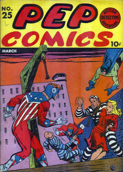 Cover for Pep Comics (Archie, 1940 series) #25