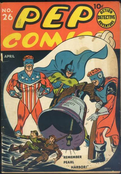 Cover for Pep Comics (Archie, 1940 series) #26