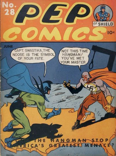Cover for Pep Comics (Archie, 1940 series) #28