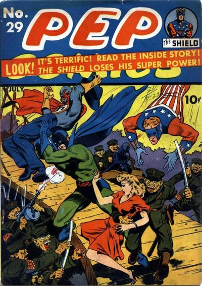 Cover for Pep Comics (Archie, 1940 series) #29