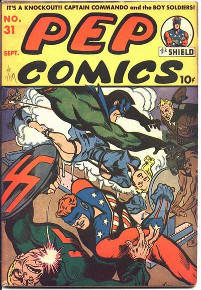 Cover for Pep Comics (Archie, 1940 series) #31