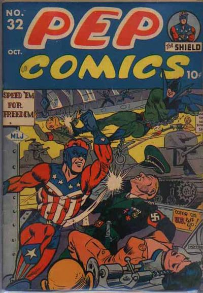 Cover for Pep Comics (Archie, 1940 series) #32